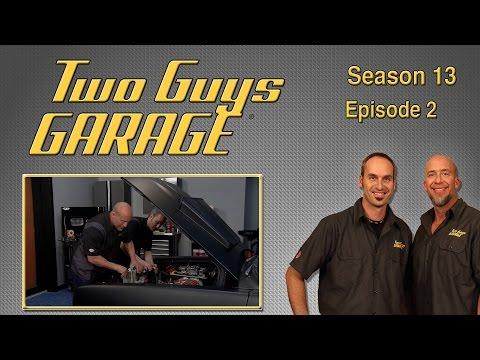 '67 Cuda Engine Upgrade   Two Guys Garage   Season 13   Episode 2