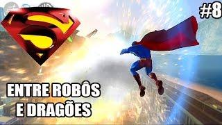 Superman Returns - Xbox 360 - ATAQUE MACIÇO CONTRA SUPERMAN - parte 8