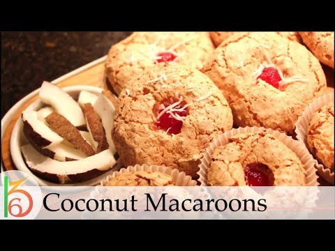 Super Light & Airy Arab Style Coconut Macaroons