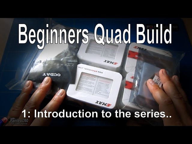 (1/9) Quadcopter building for beginners: Introduction (kit from Gearbest.com)