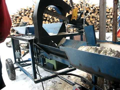 Homemade Firewood Processor Part 1 Youtube