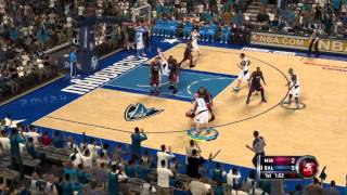 NBA 2K12 Gameplay (PS3) - Miami Heat vs Dallas Mavericks