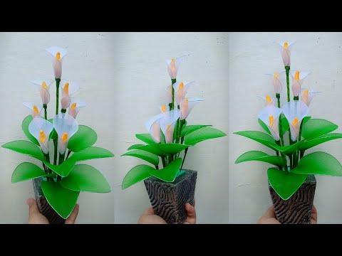 82 Ide Kreatif Bunga Calla Lily Dari Stoking Yang Cantik Dan