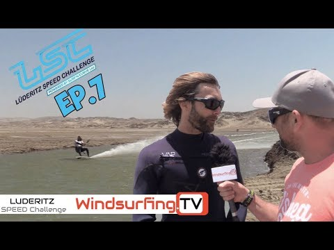 Ep.7 – 55 knots and Driving a Digger– Luderitz Speed Challenge