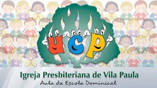 Crianças | Escola Dominical | A parábola dos dois fundamentos | Luciola Baptista | IPVP