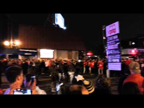Ohio State vs. Oregon National Championship - High Street Aftermath