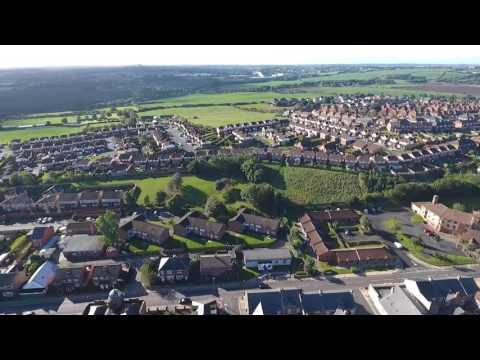 Easington Colliery Aerial Tour