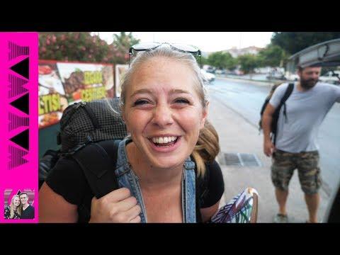 LOST! Izmir to Cesme 🚍 - Turkey travel couple vlog #385
