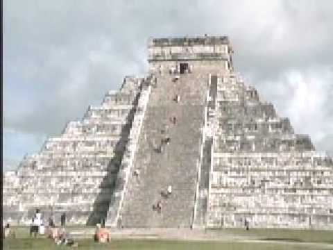 Mexico Chicen Itza Ancient Pyramid Cancun, pre-Columbian Archeological Site Jim Rogers