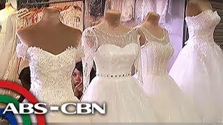 TV Patrol: Wedding gowns tulad sa celebrities, posible sa abot-kayang halaga