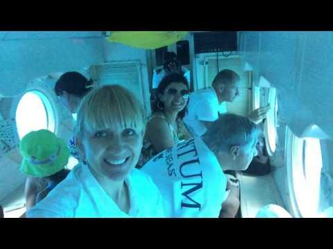 Atlantis Submarine Ride . Barbados. Caribbean.