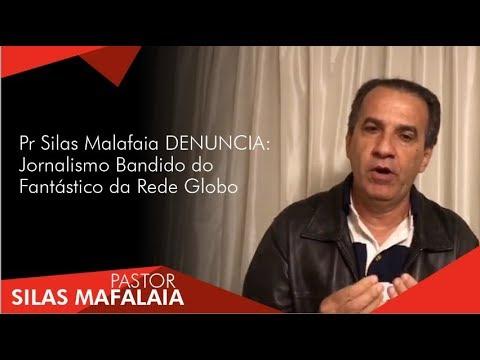 Pr Silas Malafaia DENUNCIA: Jornalismo Bandido do Fantástico da Rede Globo