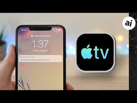 What's New In IOS 12.3 & TvOS 12.3 Beta 1: Upgraded TV App!