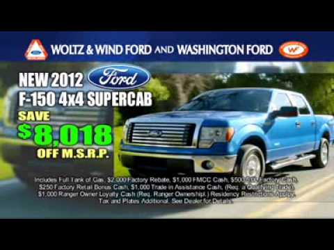 Woltz Wind Ford Built Tough Event F 150