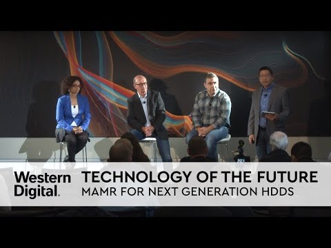 Technology of the Future: Western Digital Announces MAMR for Next Generation HDDs