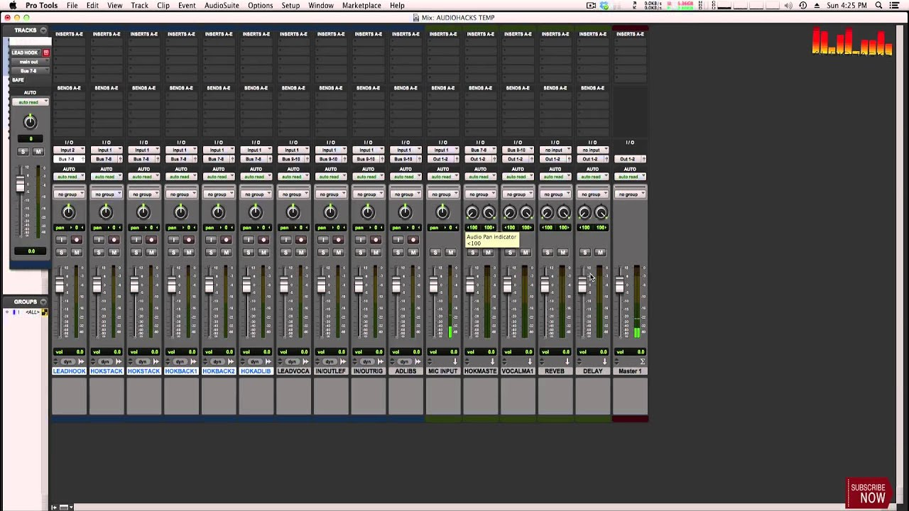 RAP/HIP HOP PRO TOOLS TEMPLATE SETUP! - TechMuze TVTechMuze TV
