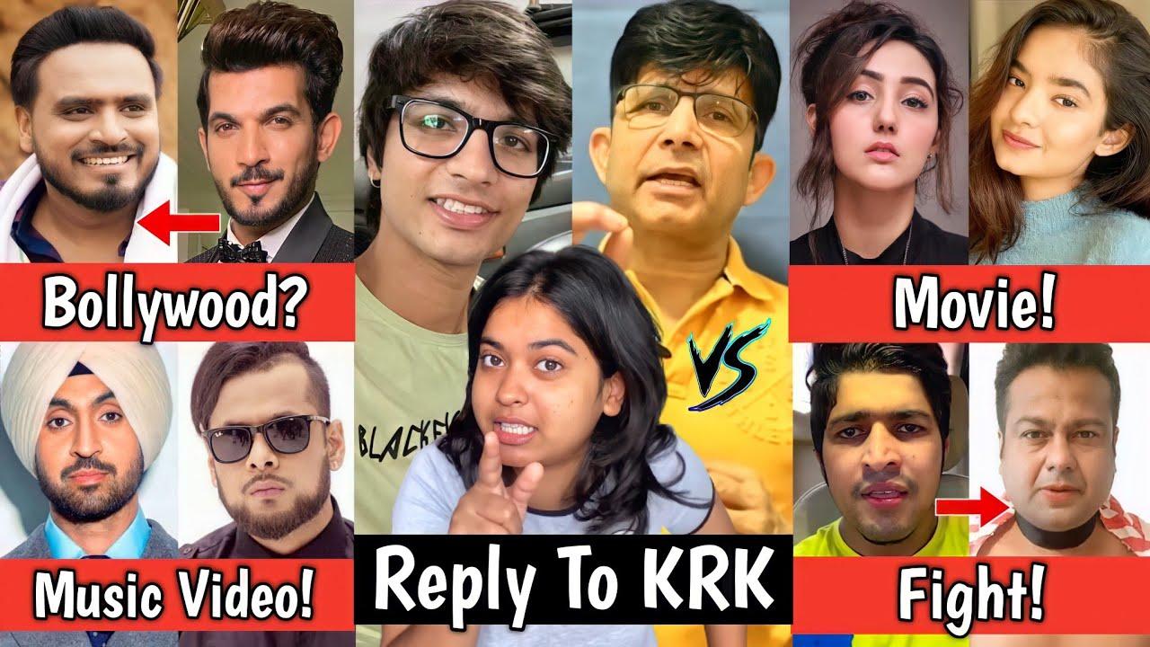 Saloniyaapa Reply To KRK, Amit Bhadana in Bollywood? Anushka Sen Movie! Sourav Joshi Vlogs, Joginder