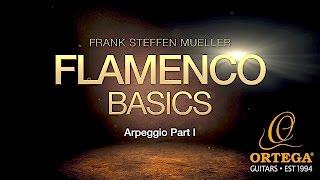 Flamenco Guitar Basic Lessons | Arpeggio (part 1) | Frank Steffen Mueller