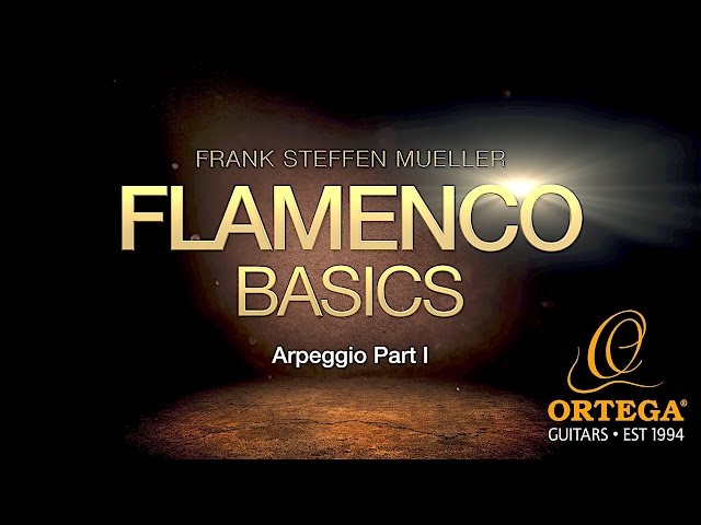 Flamenco Guitar Basic Lessons | Arpeggio (part 1) | Frank Steffen Mueller