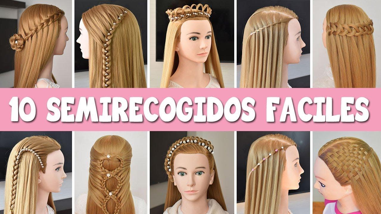 Peinados cabello largo suelto