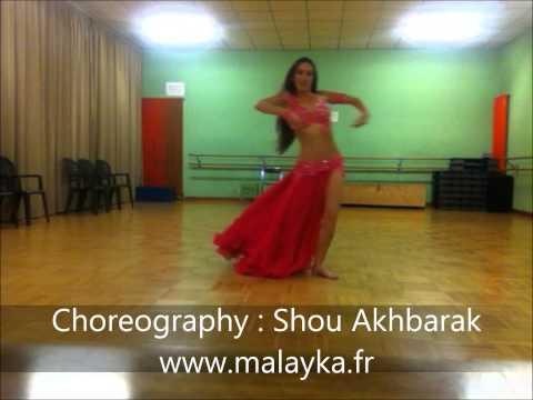 Choreography Shou Akhbarak by Maläyka