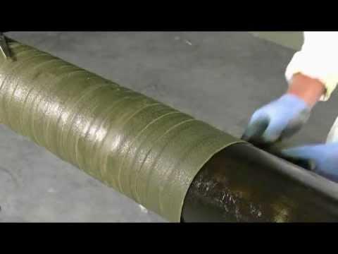 Denso Petrolatum Tape Straight Pipe Protection Youtube
