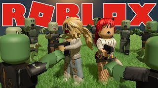 Surviving The Horde!! // Roblox Zombies