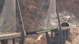 Puente Baluarte y Túnel El Sinaloense s...