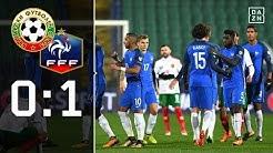 Le Bleus siegen dank Traumkombination: Bulgarien - Frankreich 0:1 | Highlights | WM-Quali | DAZN