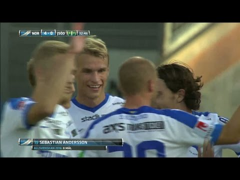 Norrköping gör fem (!) mål på en halvlek - TV4 Sport