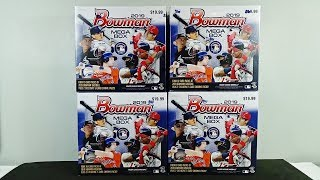 2019 Bowman Baseball MEGA BOX 4 Box Break! AWESOME!
