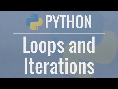 Python Tutorial for Beginners 7: Loops and Iterations - For/While Loops