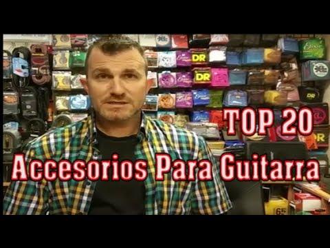 Los 20 mejores accesorios para la guitarra [TOP]