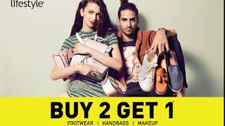 Buy 2 Get 1 at Lifestyle Stores & Online!