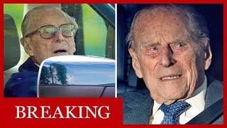 Prince Philip will NOT face prosecution for car crash after surrendering driving licence