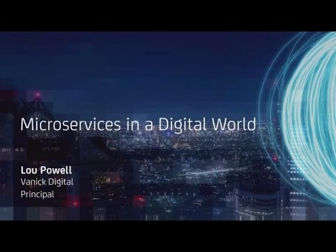 API Academy Microservices Boot Camp @ CA World: Microservices in a Digital World