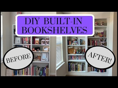 do-it-yourself---built-in-bookcase---diy-home-project