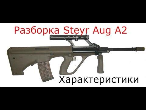 Сборка разборка Steyr Aug A2. World of guns gun disassembly оружие.