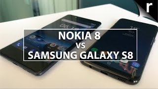 nokia 8 vs samsung galaxy s8 camera specs and features compared