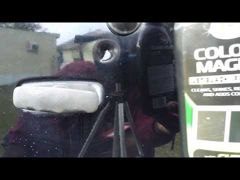 Turtle Wax Black Color Magic Works Great For Dent In Scratches