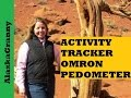 Activity Tracker Omron Pedometer