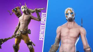 *SKIN* PSYCHO BANDIT / BORDERLANDS 3 (Outfit Fortnite) FE TV