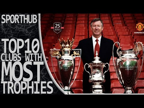 TOP 10 EUROPEAN FOOTBALL CLUB WITH MOST TROPHIES  | SportHUB