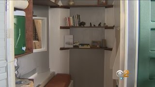 Portable Toilets Converted Into Homes May Help With Homeless Crisis