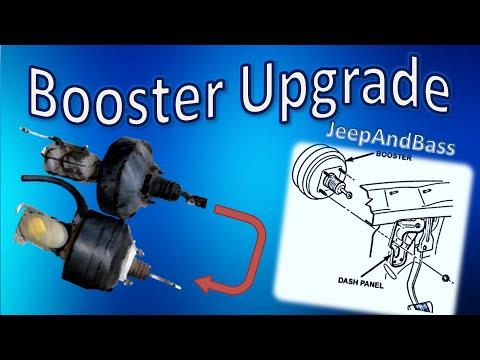 Jeep Cherokee (XJ) Brake Booster Upgrade