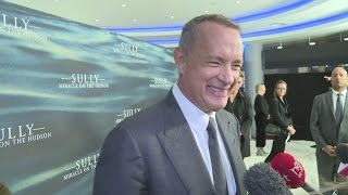 Sully premiere: Tom Hanks says
