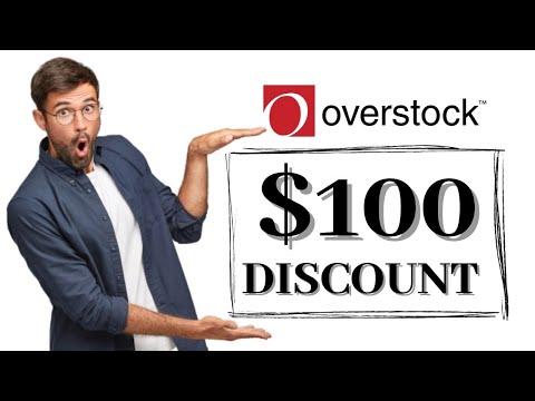FREE OVERSTOCK Promo Code 2021 REAL $100 OVERSTOCK Discount Code & Voucher Working in 2021! 🌟