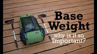 Base Weight & Why It's So Important!