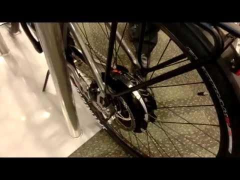Solar Bikes charging station