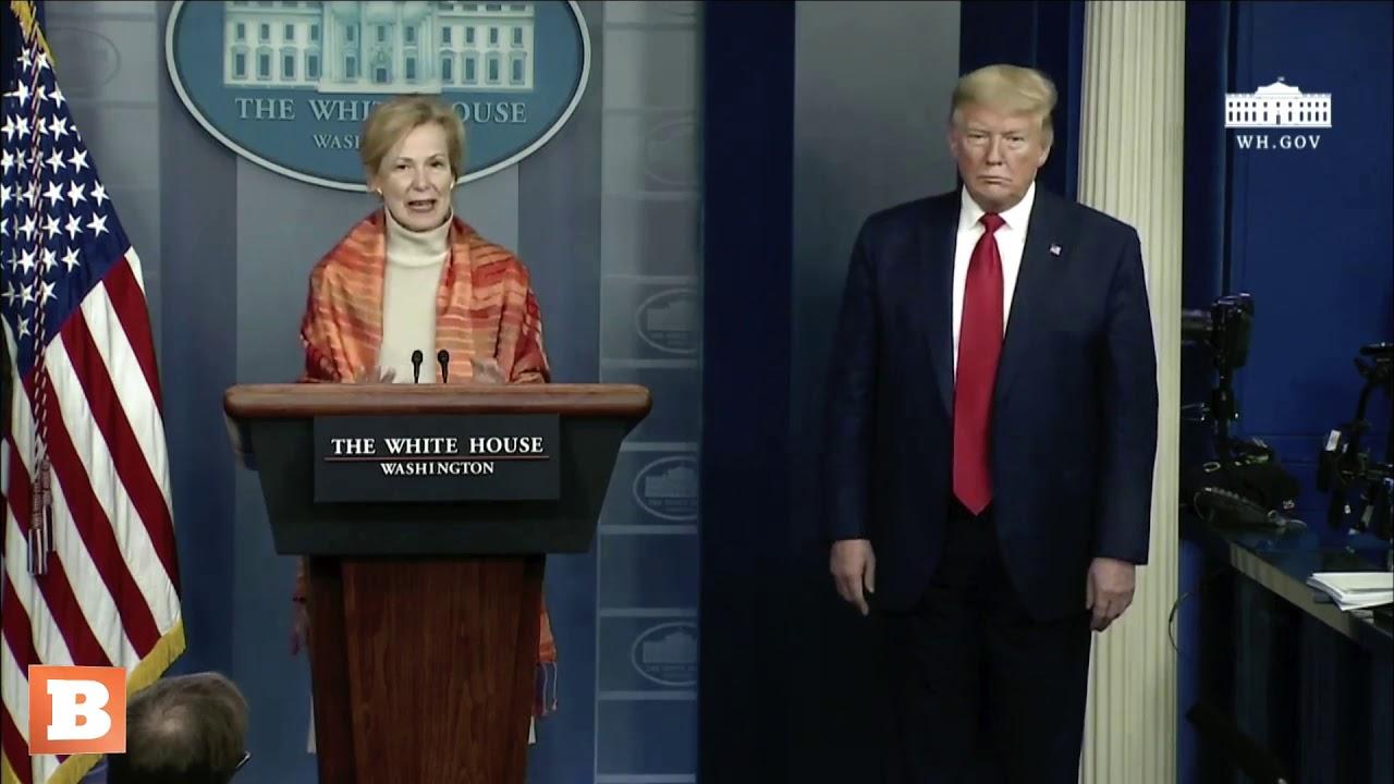 Jim Acosta Interrupts Dr. Deborah Birx to Blame Donald Trump